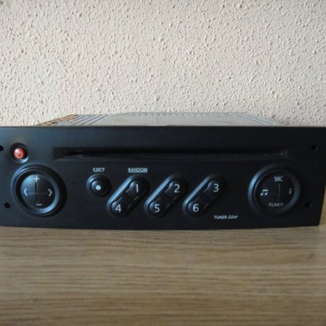 Radio Cd Player OEM RENAULT Tuner List