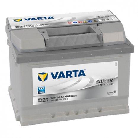 Baterie auto VARTA-Silver Dynamic-12V, 61 Ah