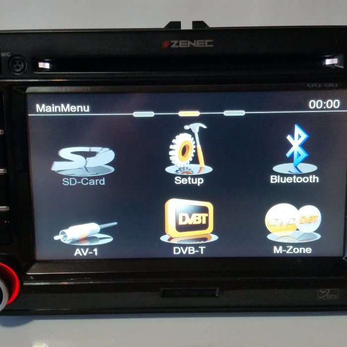 Navigatie Zenec dedicata  Volkswagen Skoda Seat  dvd bluetooth